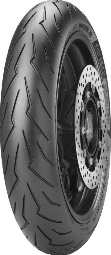 Pirelli Diablo Rosso Scooter Front Tire - 120/70-12 REINF (58)