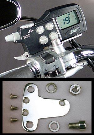 J&M JMCB-2003 Mounting Bracket Kit for Yamaha Cruisers (Except for Stratoliner) - Polished