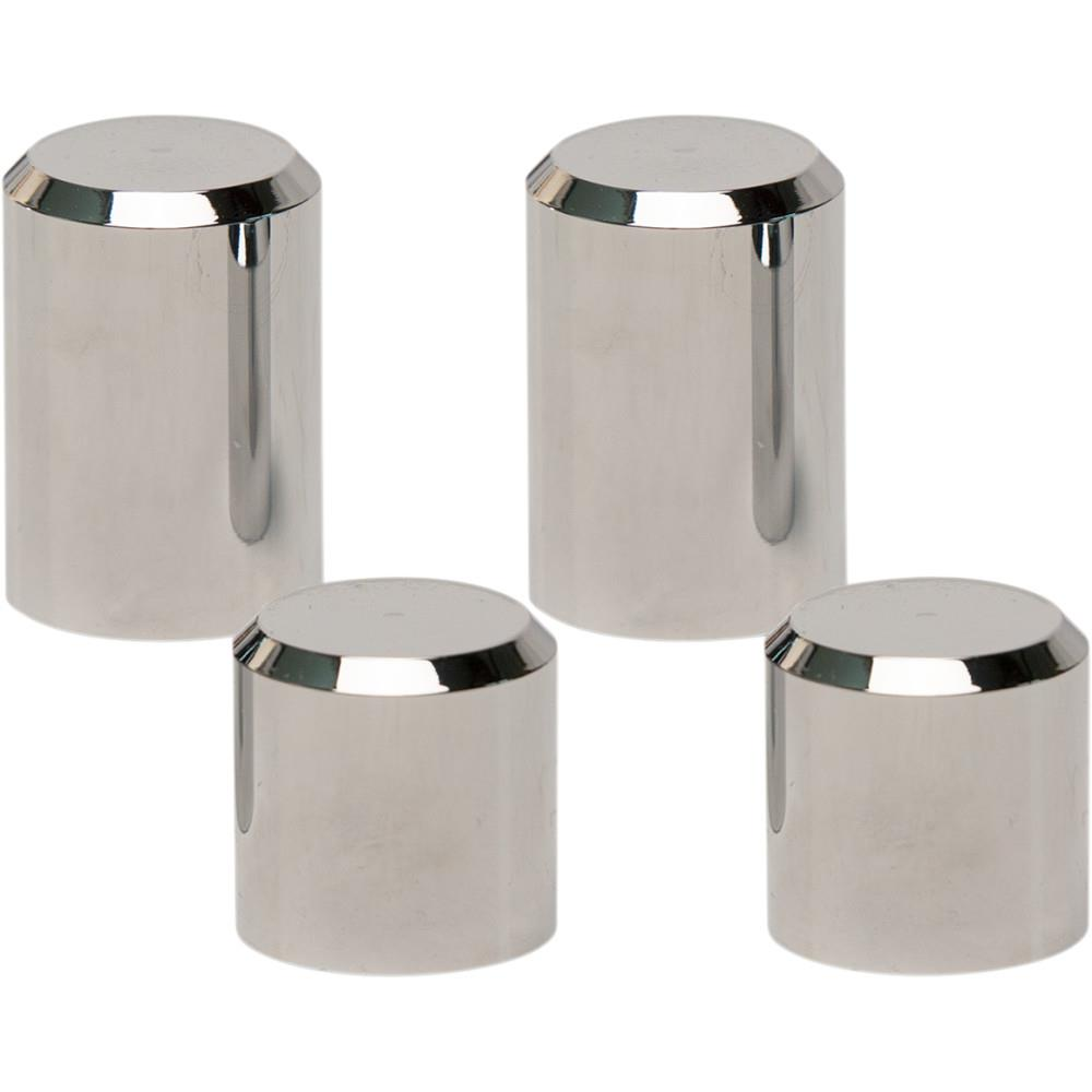 Pro Pad Billet Docking Station Chrome Smooth Cover - 4pc.