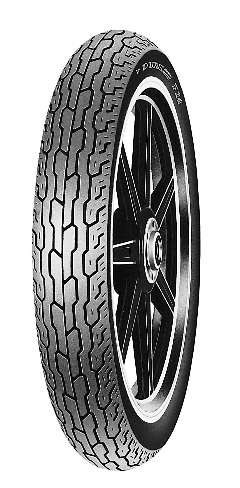 Dunlop F24 Front Tire - 110/90H19 TL (110/90-19)
