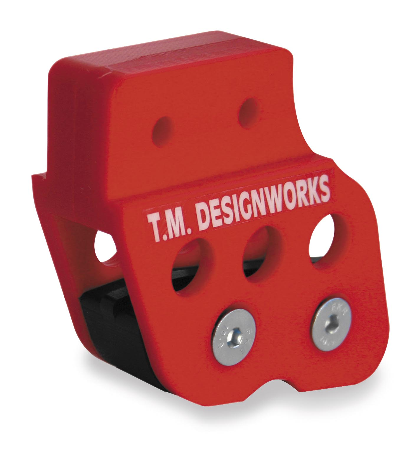 T.M. Designworks Rear Chain Guide and Solid Powerlip Wear Pad - Black