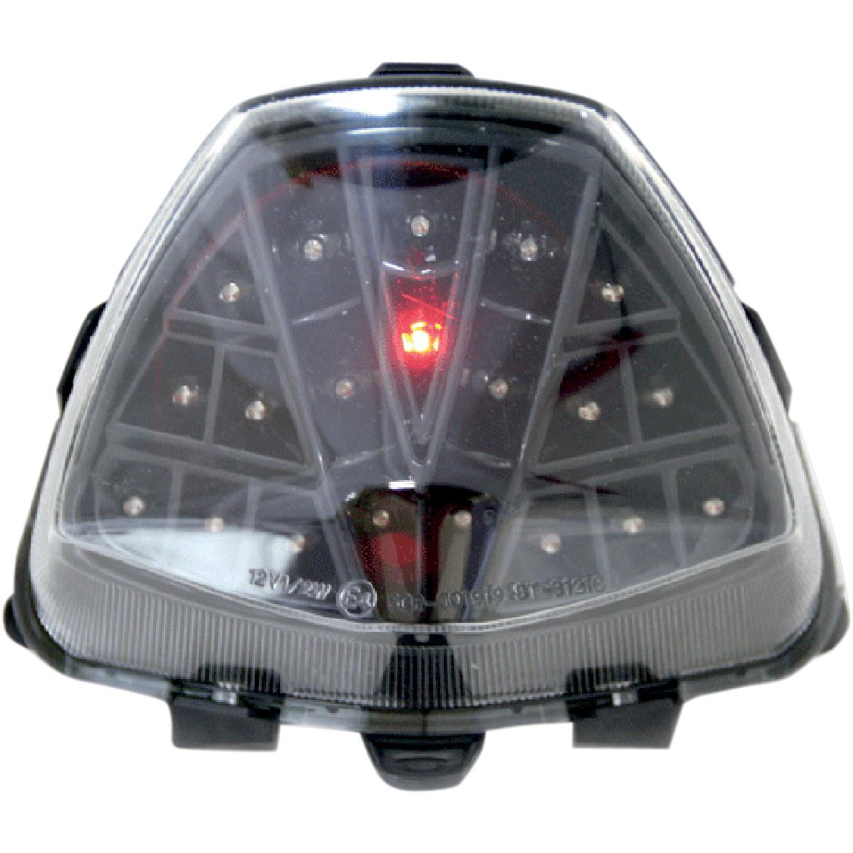 Integrated Taillights Competition Werkes Stealth MPH-80156S