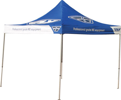 Fly Racing Replacement 11ft. Solar Flag for Aluminum Canopy