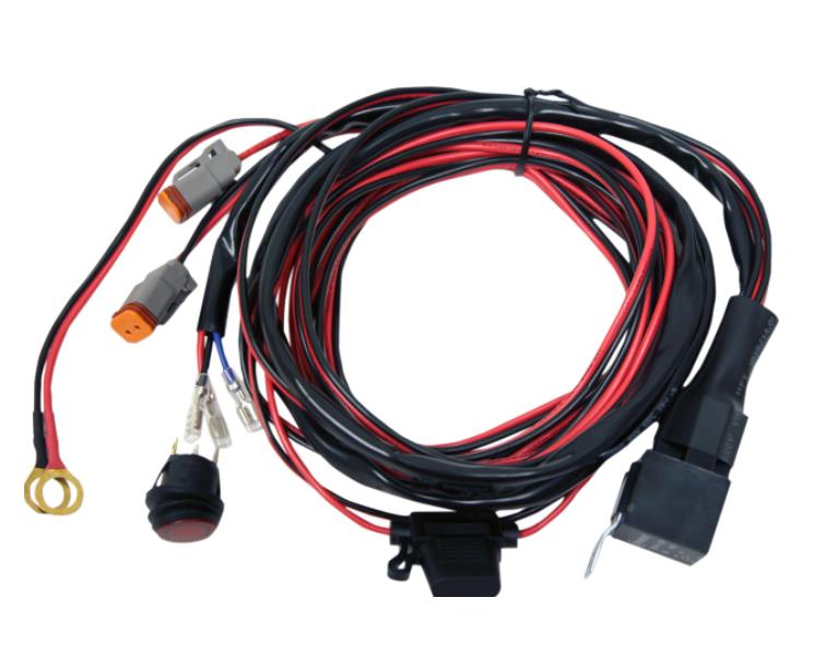rigid industries wire harness for dually and d2 led lights 2wheel