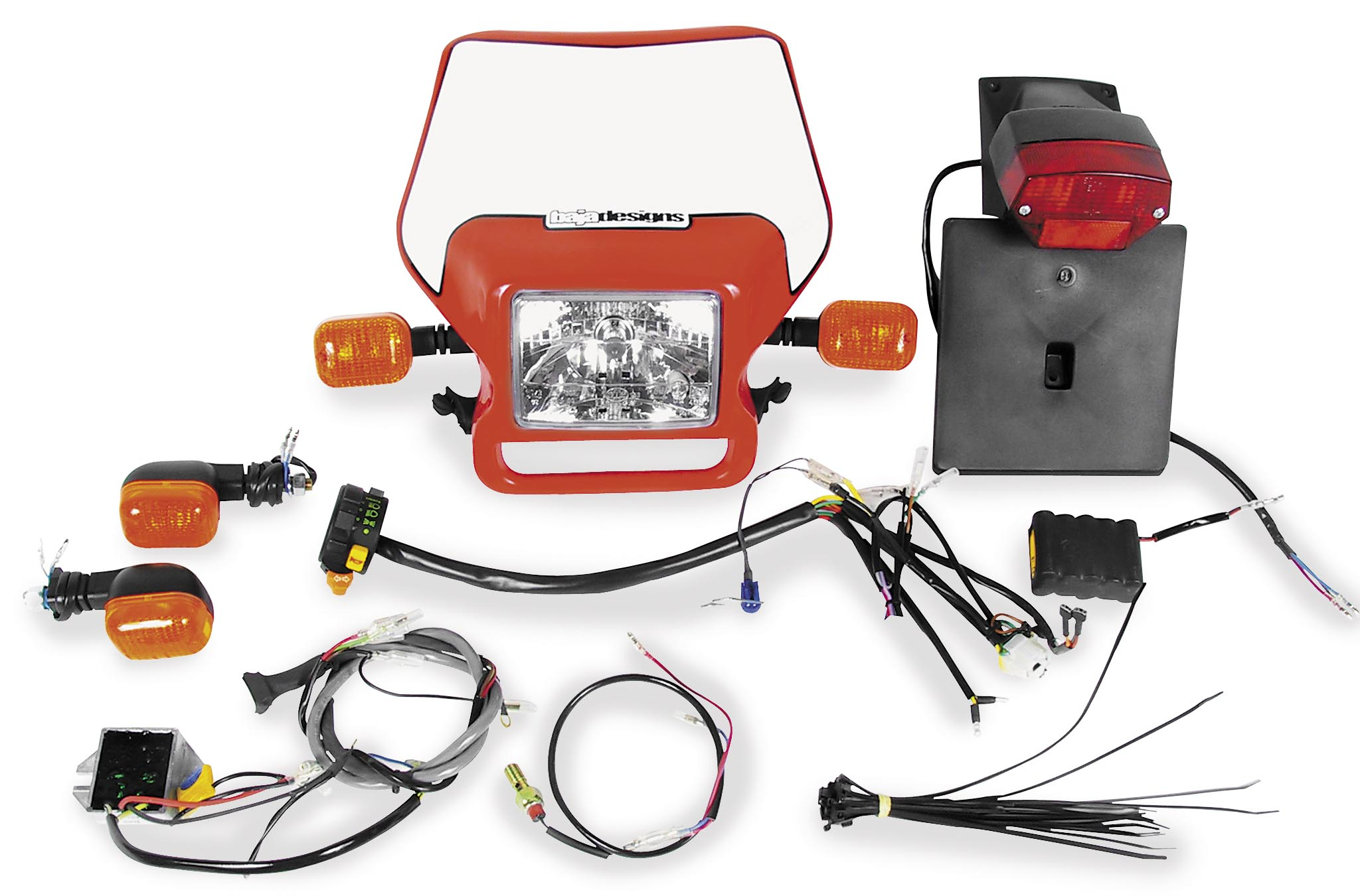 Baja Designs Dual Sport Kit - EZ Mount - Electric Start