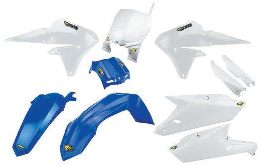 Cycra Complete Body Kit - Yamaha Stock (Blue)