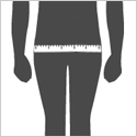 How to Measure Hips Size